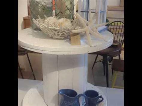 DIY Round Table Bricolage /Mesa con Carrete Redondo ...