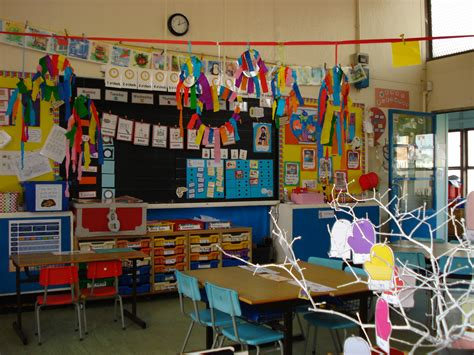 Doing Activity of Decorating with Classroom Decoration ...