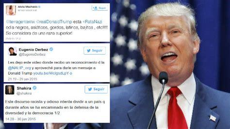 Donald Trump: 7 celebridades que lo tildan de racista ...