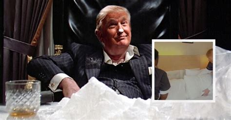 Donald Trump Caught Snorting Cocaine in Hotel