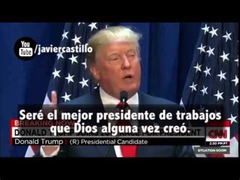 Donald Trump en Español las Mejores Frases   YouTube