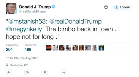 Donald Trump Goes On A Sexist Twitter Tirade Against Megyn ...