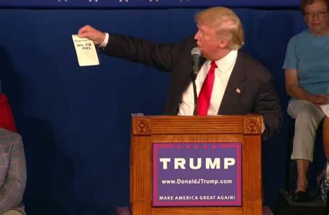 Donald Trump recibirá información de inteligencia