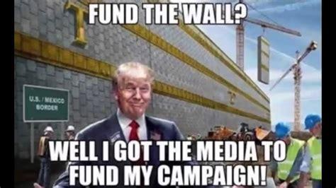 Donald Trump Wall Meme | Really Funny!! - YouTube