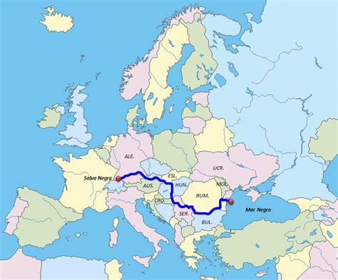 ¿Dónde está el río Danubio? | Saber es práctico
