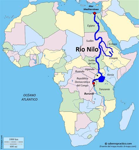 ¿Dónde está el río Nilo? | Saber es práctico