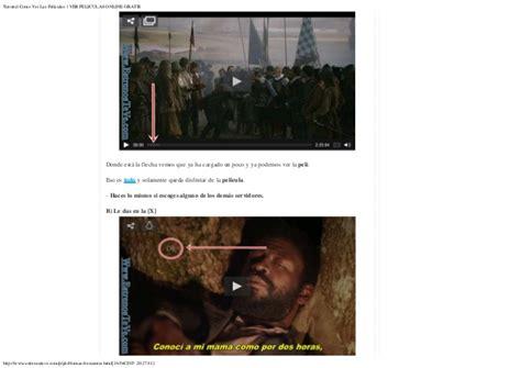 Donde Puedo Ver Peliculas Online Gratis Sin Registro ...