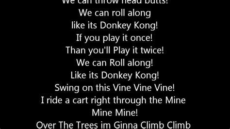 Donkey Kong Song With Fail lyrics   YouTube