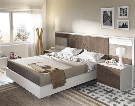 Dormitorio actual de matrimonio lineas modernas