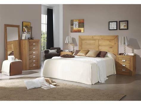 Dormitorio de matrimonio Bahía color cera
