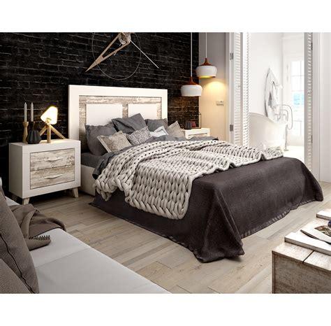 Dormitorio de matrimonio RIVER, color blanco y vintage ...
