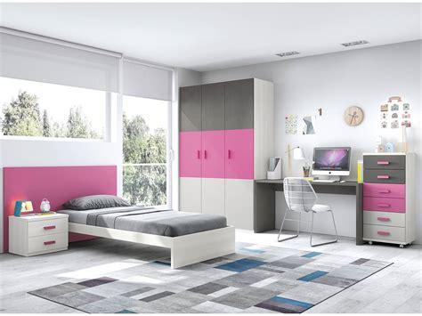 Dormitorio juvenil armario 3 puertas