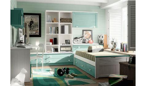 Dormitorio vintage provenzal juvenil Apilable en ...
