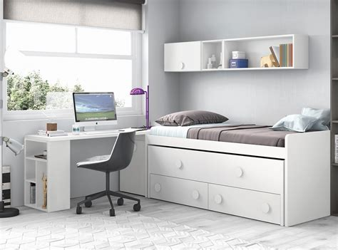 Dormitorios juveniles catalogo Muebles La Fabrica 2017 ...