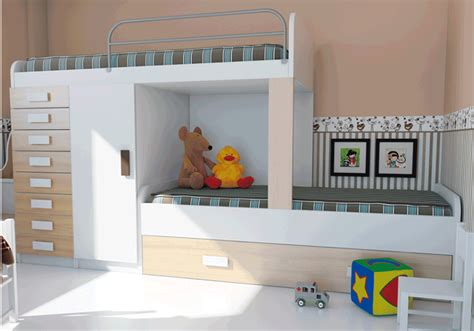Dormitorios juveniles modernos con litera   Comprar ...