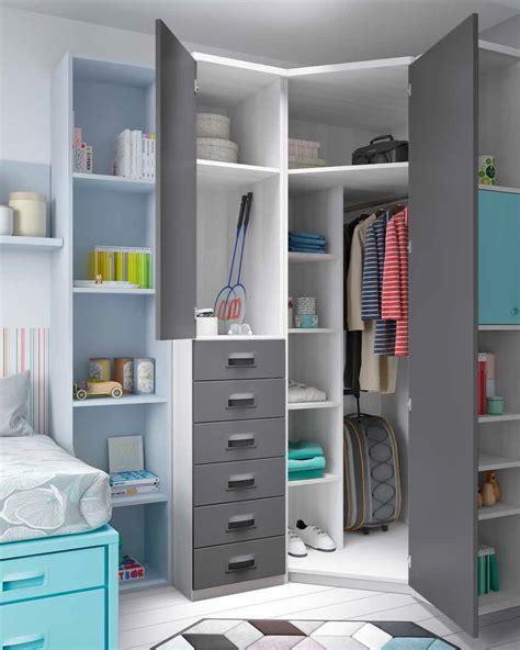 Dormitorios juveniles para espacios reducido