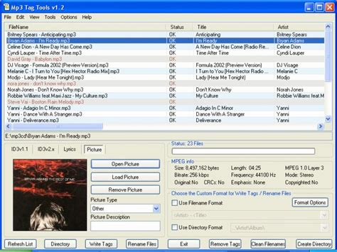 Download Mp3 Tag Tools v1.2 Build 008  gratis / freeware ...