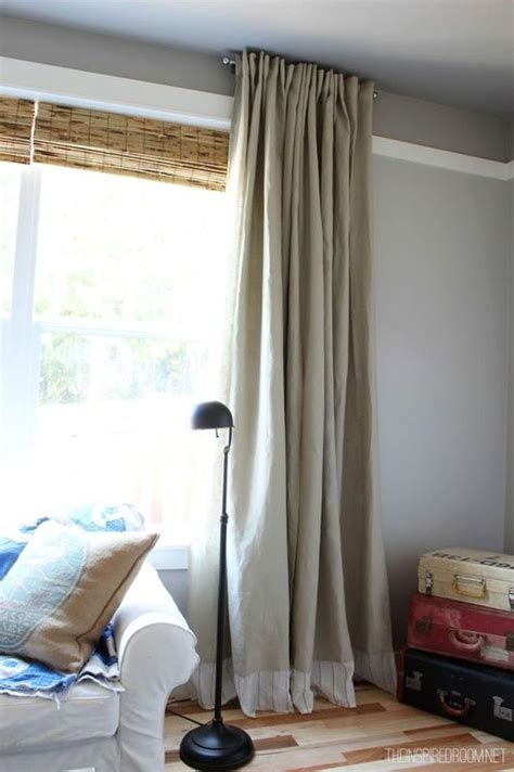 {Easy DIY} No Sew Embellished IKEA Curtain Panels   The ...
