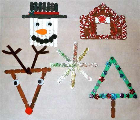 easy kids christmas crafts | find craft ideas