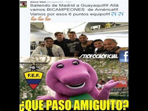Ecuador vs. Chile: Mira los memes graciosos de la goleada ...
