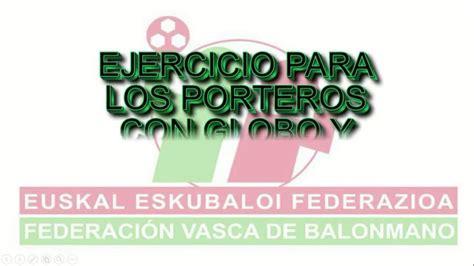 EJERCICIO PARA PORTEROS CON GLOBO Y PELOTAS DE TENIS   YouTube