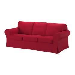 EKTORP Sofá 3 plazas   Nordvalla rojo   IKEA
