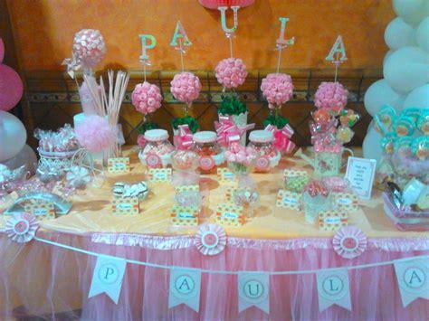 El desván de Meme: Mesa de chuches decorada para Paula en ...