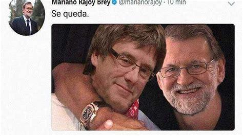 ¡El meme de Rajoy y Puigdemont al estilo Piqué y Neymar ...