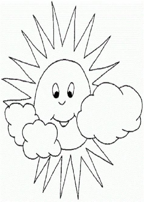 El Sol   Dibujos para colorear