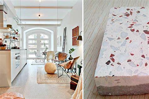 | El terrazo en el diseño de interiores: vuelta a los orígenes