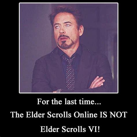 elder scrolls online meme robert downey jr | The Elder ...
