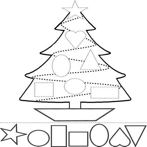 Elegante Dibujos Navidad Para Colorear Recortar