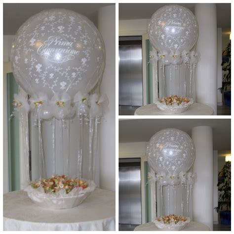 elemento decoracion con globos para comunion 02   Vittoria ...
