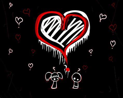 Emo Love Wallpaper   Emo Love Wallpaper  12230758    Fanpop