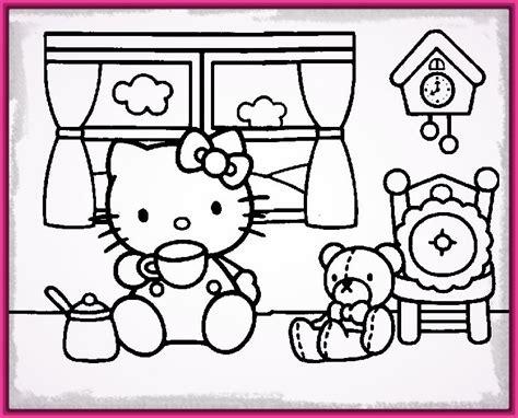 Encantadores Dibujos Hello Kitty para Colorear e Imprimir ...