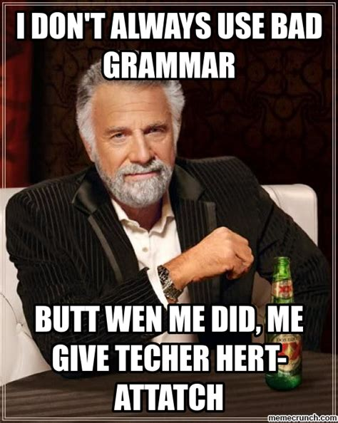 english teacher meme