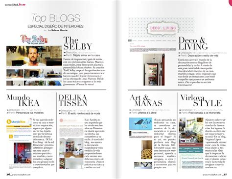 ¡Entre los Top Blogs de Diseño de Interiores!   Deco & Living