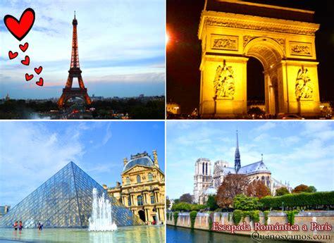 Escapada Romántica a París   Quenosvamos.com