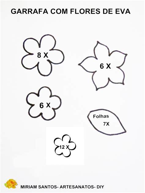 Escolha Ótimos Moldes de Flores em EVA para Imprimir | Max ...