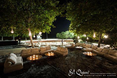Espacios Chill out en un evento: elegancia y tranquilidad.