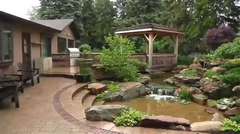 Estanques para jardín con peces KOI   Jardines acuaticos ...