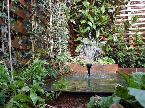 Estanques y fuentes de Jardín. Espacios de Agua – UN ...