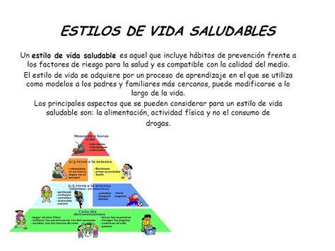 ESTILOS DE VIDA SALUDABLES   ppt video online descargar