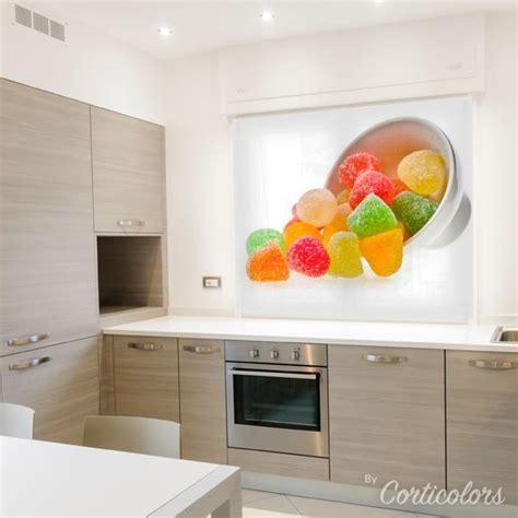 Estores para cocina modernas con dibujos   Corticolors.com