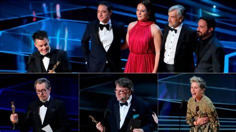 Estos son los ganadores de los Premios Oscar 2018 | Tele 13