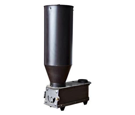 Estufa de acero policombustible ECOLOMA Hueso Pellet 12 kw ...