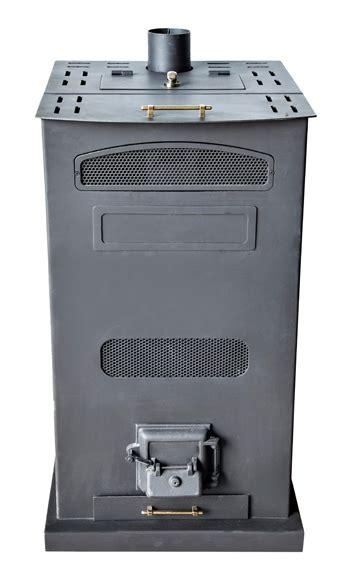Estufa de acero policombustible ECOLOMA Hueso Pellet 18 kw ...
