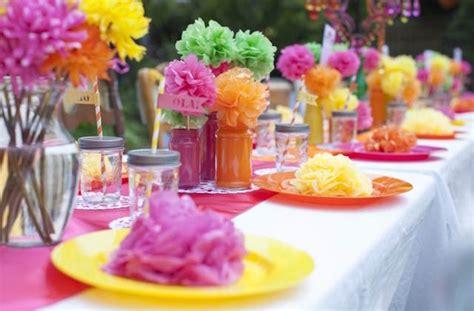 Estupendos arreglos florales para fiestas infantiles