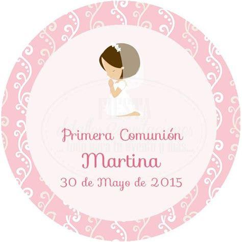 ETIQUETA COMUNIÓN 018.   Fiesta detalles e invitaciones ...