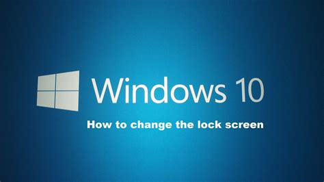 Extiende el tiempo de tu pantalla de bloqueo de Windows 10 ...